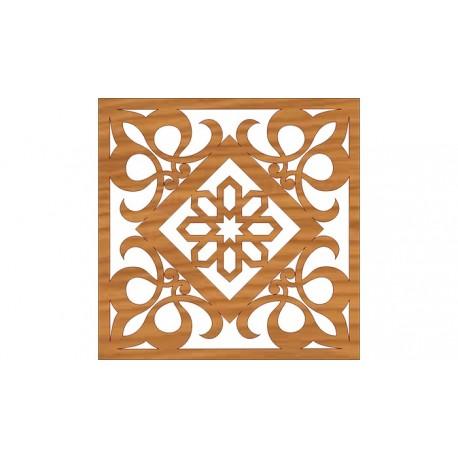 Laser Cut Pattern Design Cnc 163 Free DXF File