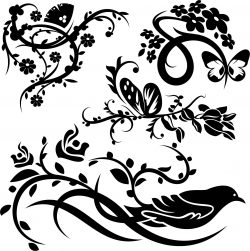 Beautiful Wall Paintings For Print Or Laser Engraving Machines F Free CDR Vectors Art