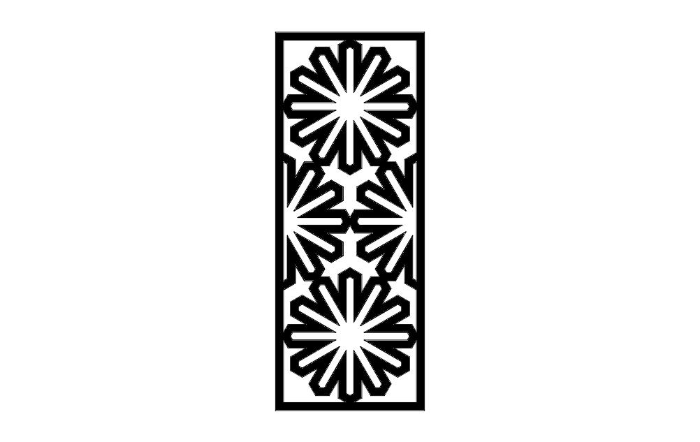 Islamic Pattern 9 Free DXF File