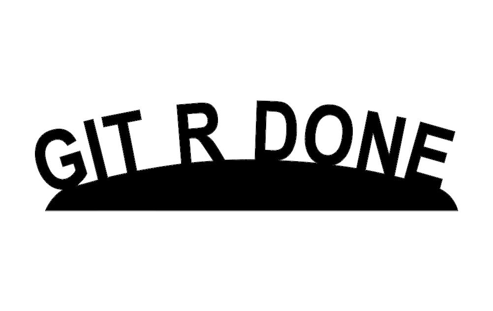 Gitr Done Free DXF File
