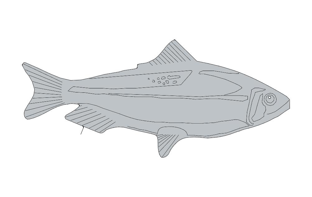 Fishs Free DXF File