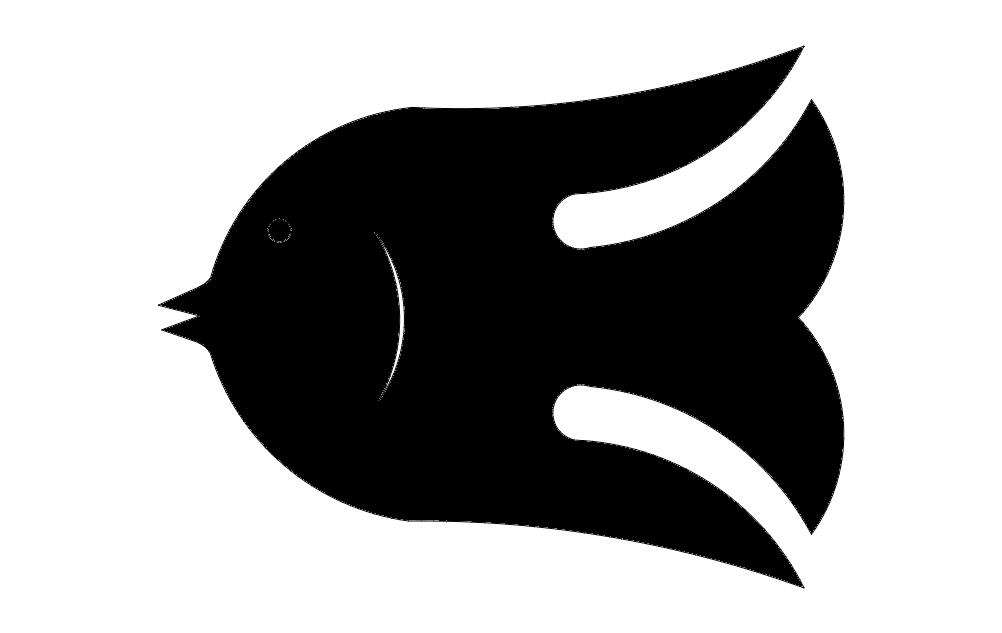 Fish Sm 3 Free DXF File