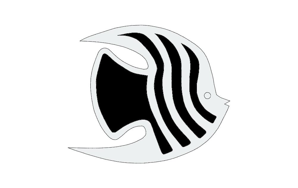 Fish Ac 1 Free DXF File