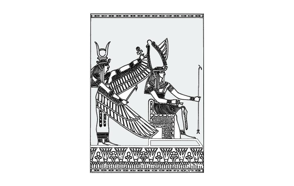 Egypt Free DXF File