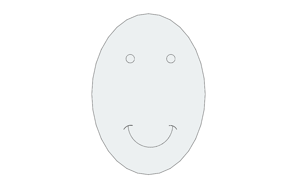 Egg Free DXF File