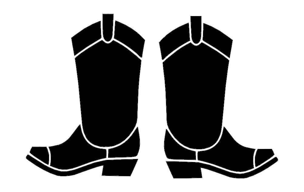 Boots Free DXF File