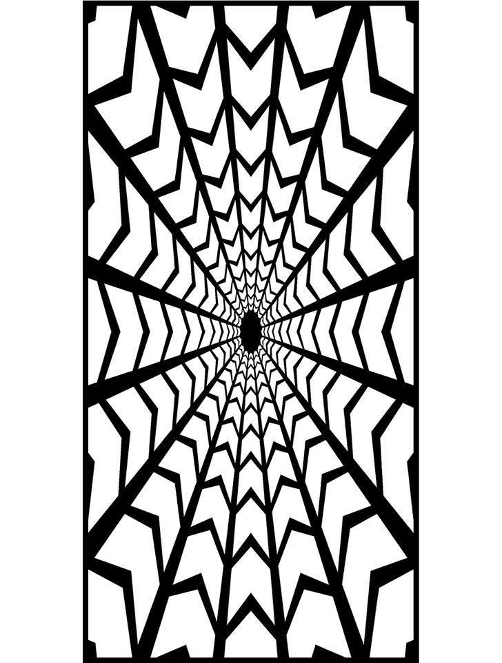 Jali Design Pattern 1414 Free DXF File
