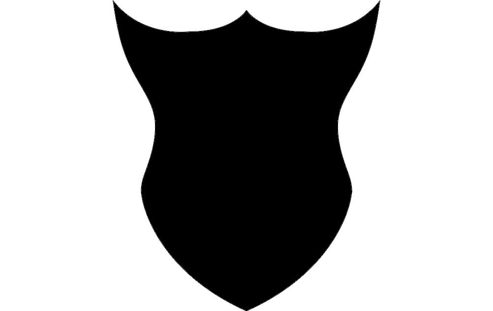 Design Black Solid 1 Free DXF File