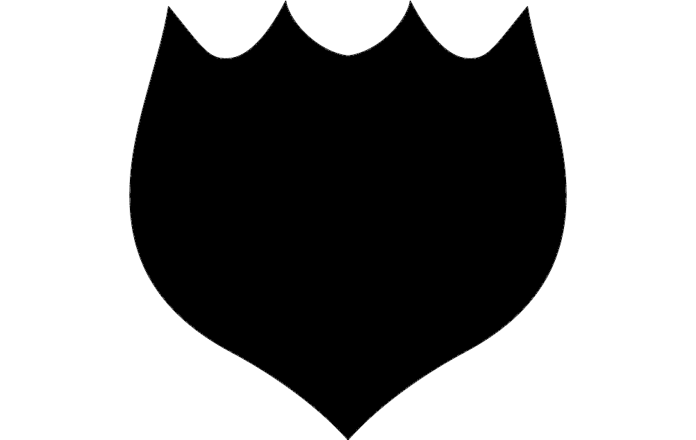 Design Black Solid 5 Free DXF File