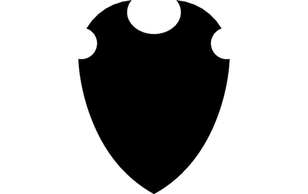 Design Black Solid 17 Free DXF File