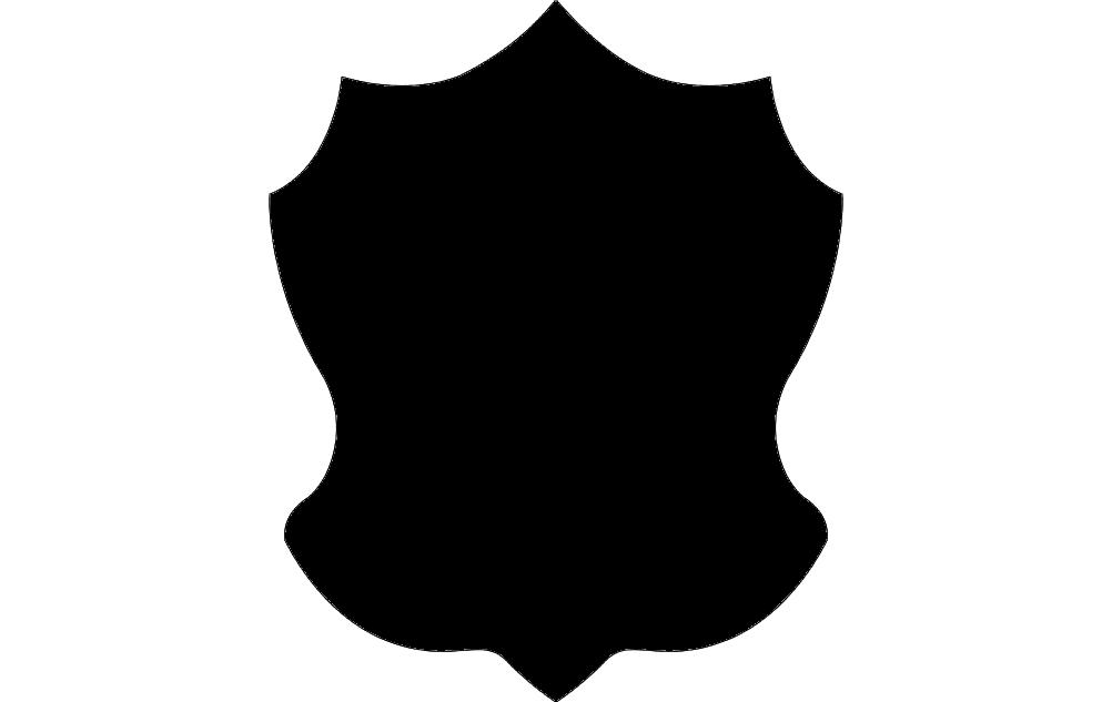 Design Black Solid 44 Free DXF File