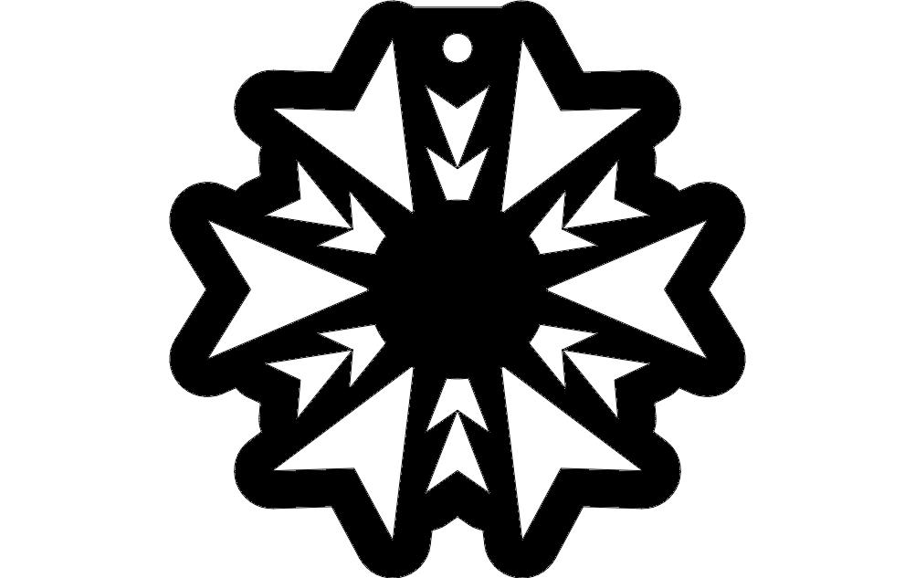 Pattern Design Free DXF File