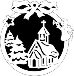 Image Decorated With Noel Download For Laser Cut Plasma Decal Free DXF File