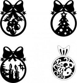 Tree Hanging Ball Download For Laser Cut Cnc Free DXF File