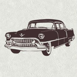 Very Old Car Download For Print Or Laser Engraving Machines Free DXF File