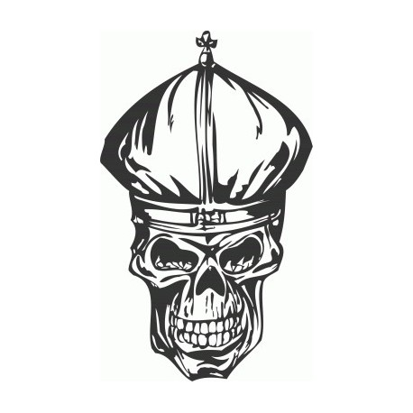 Cool Skull Free DXF File