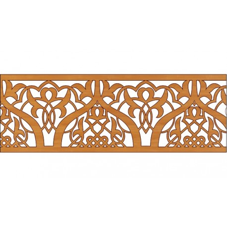 Decoration Screen Panel Design 341 Cnc Free DXF File