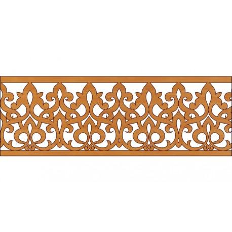 Decoration Screen Panel Design 343 Cnc Free DXF File
