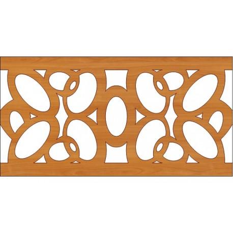 Decoration Screen Panel Design 352 Cnc Free DXF File