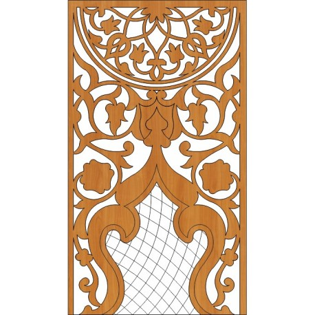 Decoration Screen Panel Design 361 Cnc Free DXF File