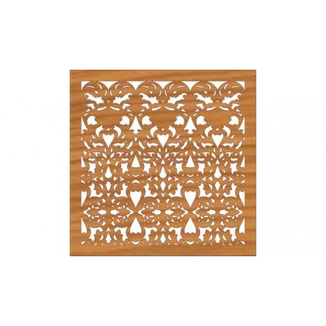 Decoration Screen Panel Design 366 Cnc Free DXF File
