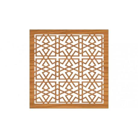 Decoration Screen Panel Design 374 Cnc Free DXF File