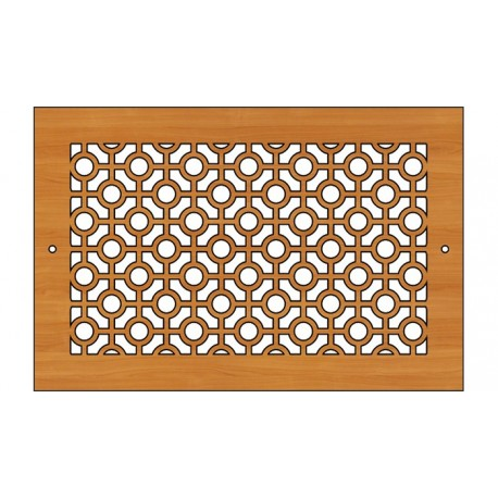 Decoration Screen Panel Design 447 Cnc Free DXF File