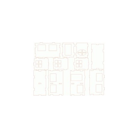 House Free DXF File