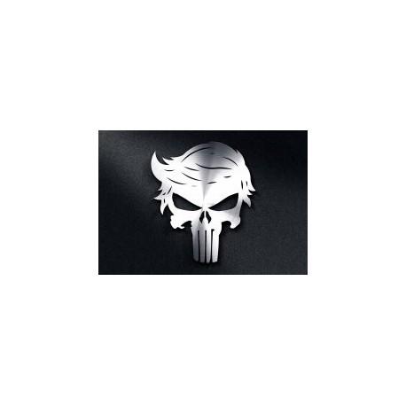 Trump Punisher Skull Free DXF File