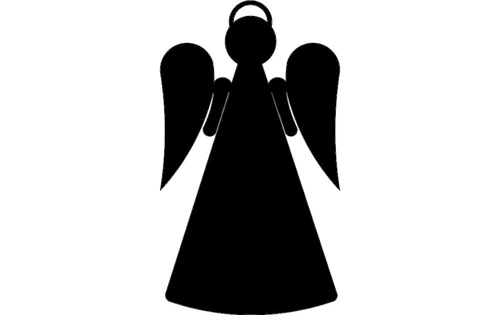 Angel Stake 2b Free DXF File