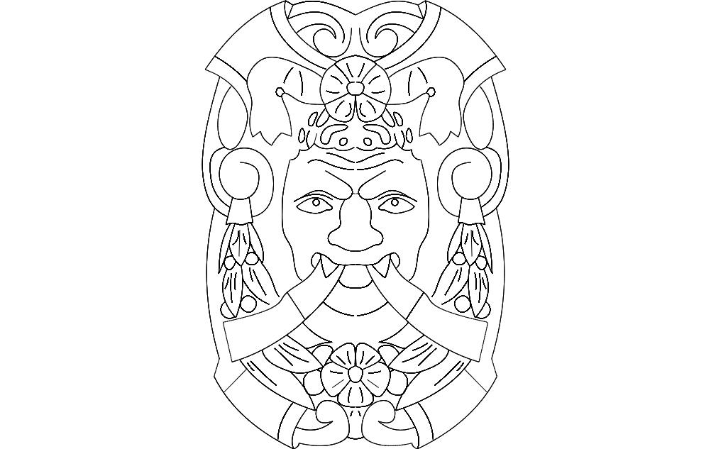 Artwork 1 Free DXF File