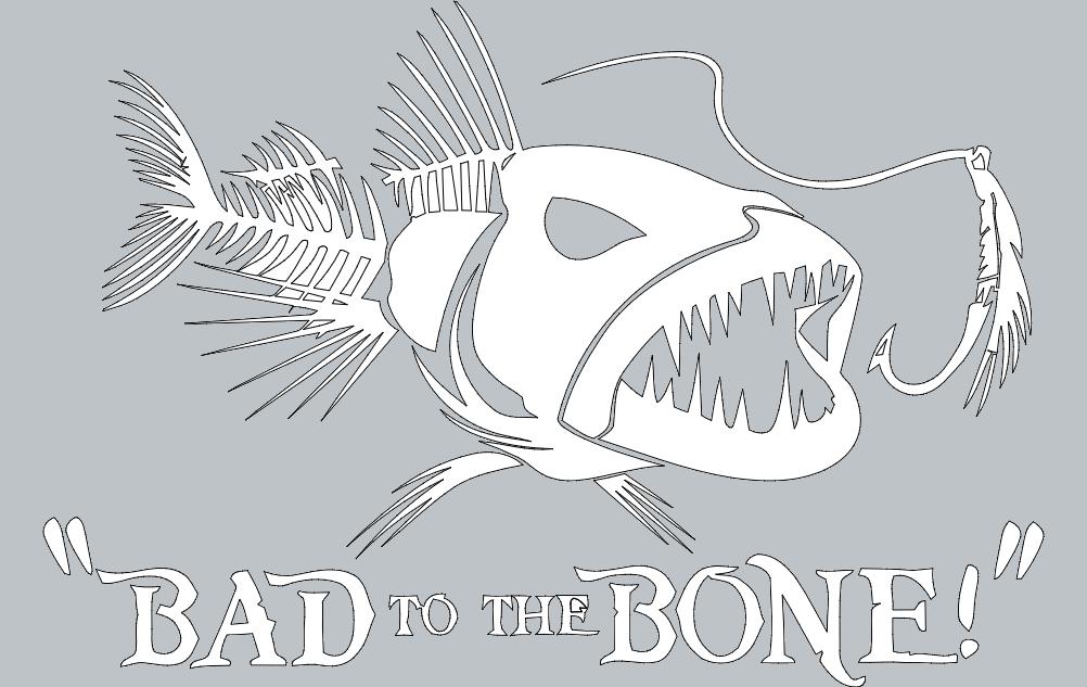Badbone Free DXF File