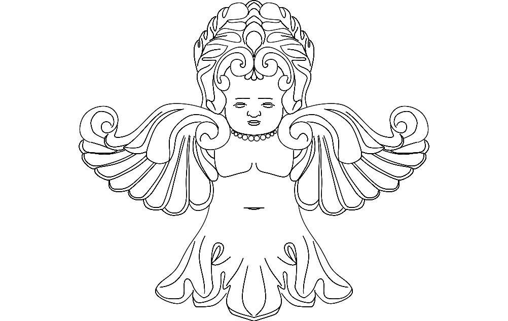 Fairy Free DXF File