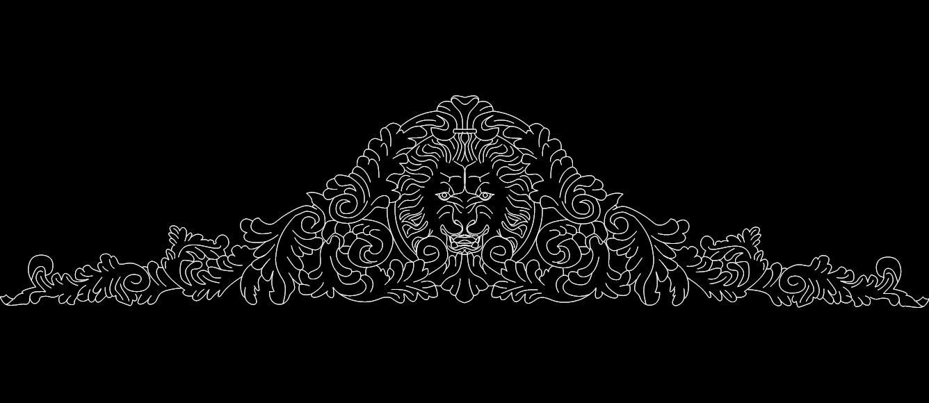 Lion 2 Free DXF File
