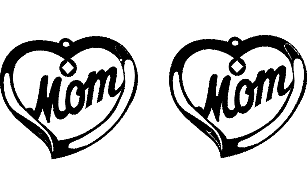 Mothers Day Free DXF File