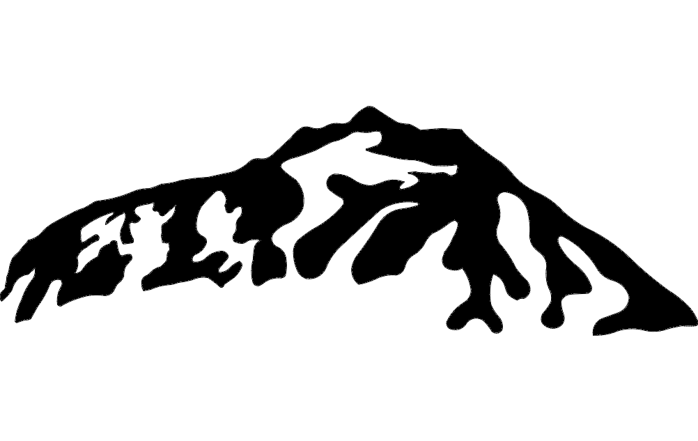 Mountain 4 Free DXF File