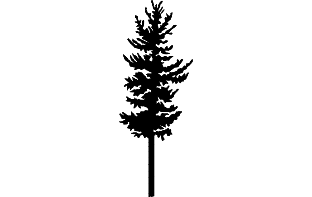 Trees And Plants 22 Free DXF File