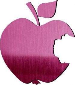 Bad Apple Shape Download For Laser Cut Plasma Free CDR Vectors Art