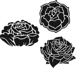 Beautifully Carved Flower Pattern Download For Laser Engraving Machines Free CDR Vectors Art