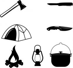 Blueprints For Summer Camping Free DXF File