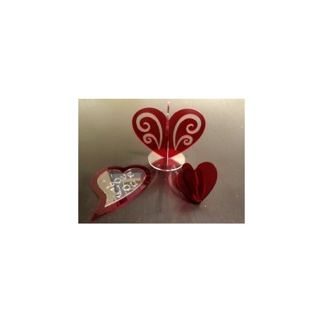 A Heart Decoration Free DXF File