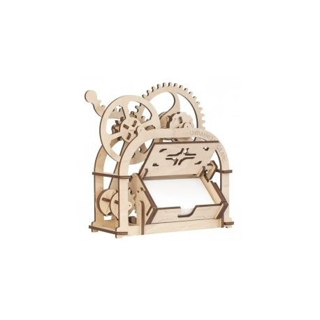 Card Holder Mechanical 3d Wooden Puzzle Box 4 Mm Free DXF File