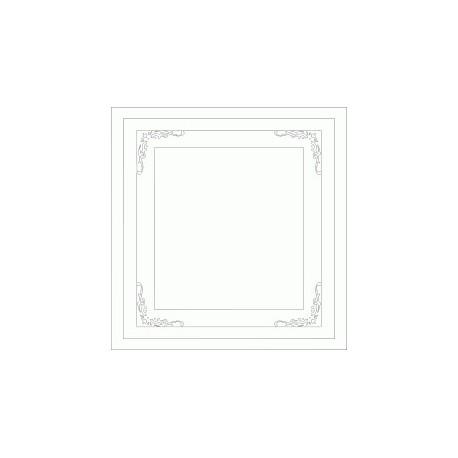 Decorative Frame Free DXF File