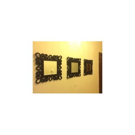 Elegant Mirror Frame Free DXF File