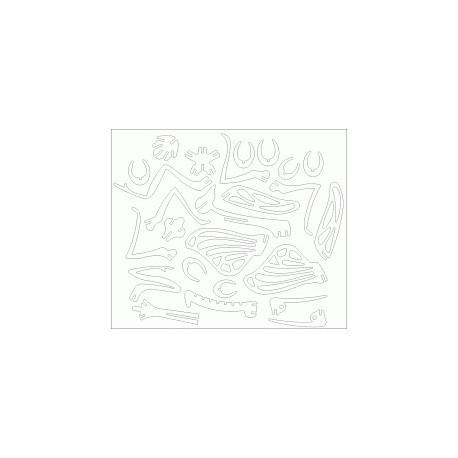 Gottesanbeterin Puzzle 3mm Free DXF File