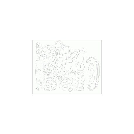 Hummer Puzzle 3mm Free DXF File