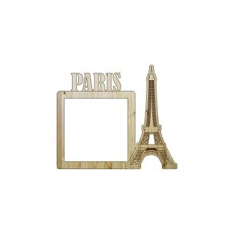Laser Cut Frame Paris Free DXF File