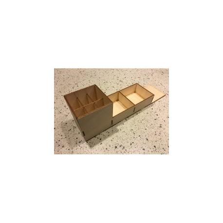 Laser Cut Storage Box Free DXF File