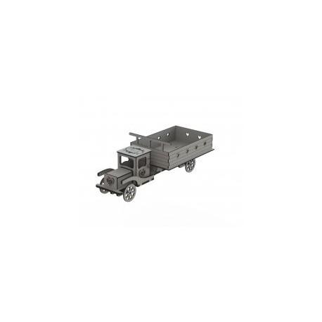 Truck Laser Cut Free DXF File