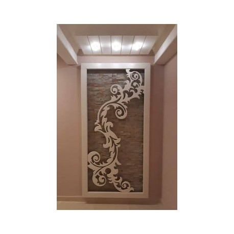 Wall Flower Free DXF File